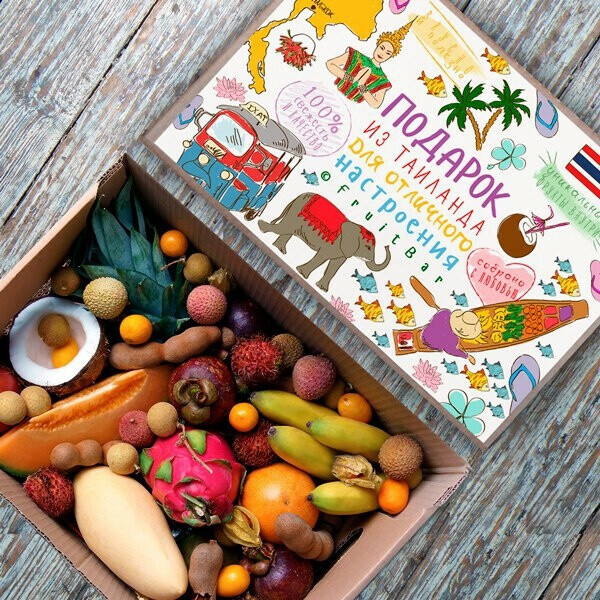 Фруктовую коробку FruitBar
