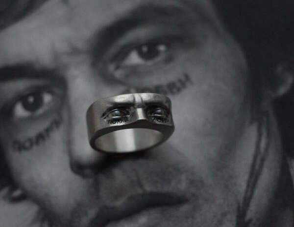 """Кольцо Давид """"Полны Любви"""" от KateSnap"""
