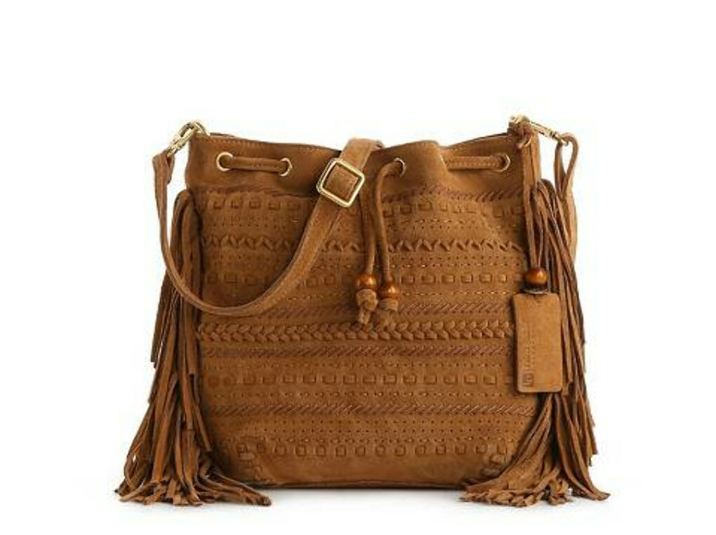 Linea Pelle Bo Mini Bucket Cross Body Bag