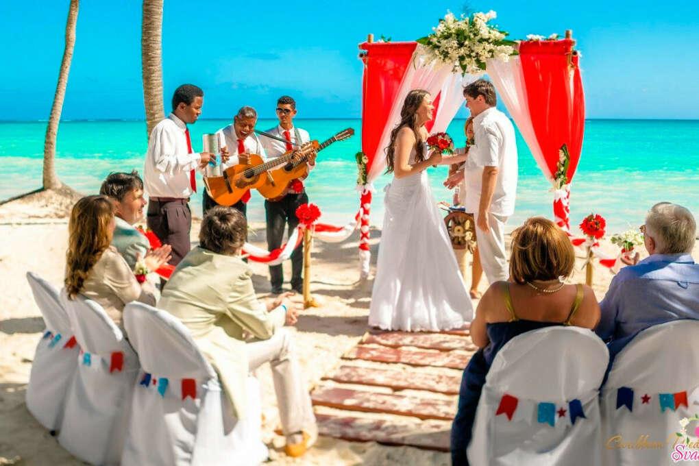Свадебная церемония на Карибах