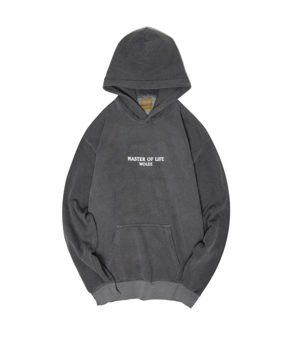 GARMENT DYED > Толстовка Wash / Grey купить в интернет-магазине