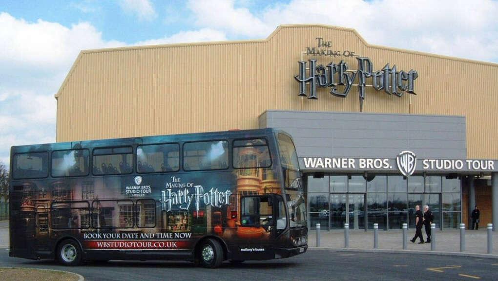 Поехать на студию Warner Brothers в Лондоне