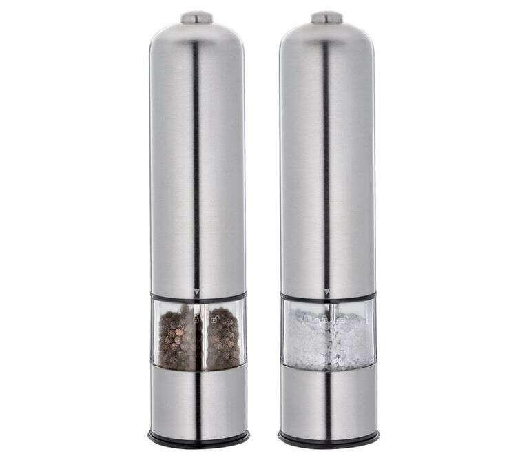 Набор электрических мельниц для перца и соли CILIO