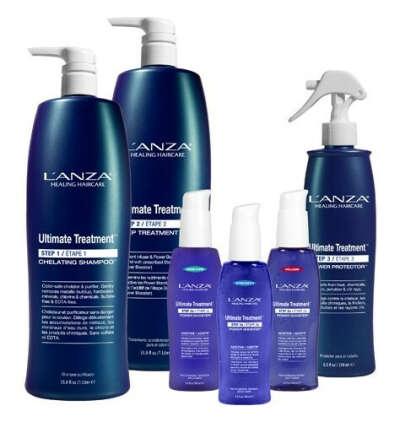 Кератиновое протезирование волос L'anza