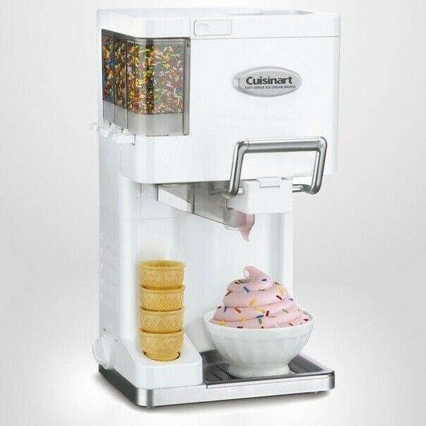 Машина для приготовления мороженного дома))