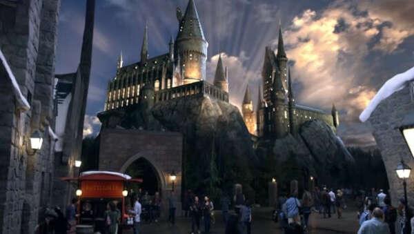 Поездка в парк Гарри Поттера в Орландо