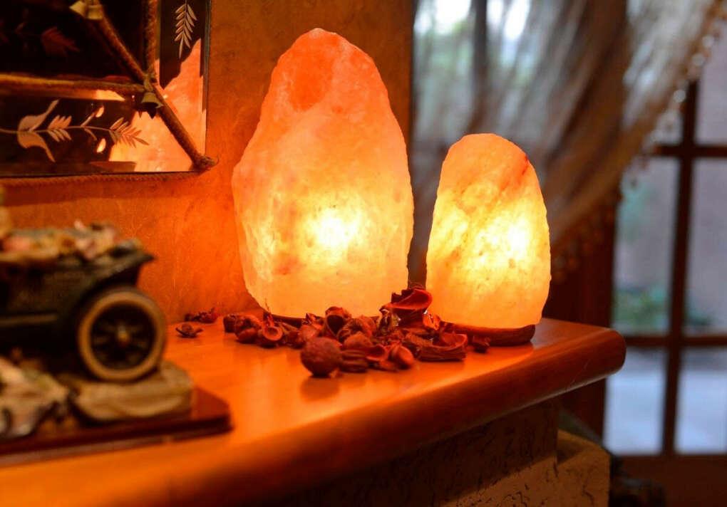 Соляная лампа Скала 2-3 кг Wonder Life  SLL-12013-Д