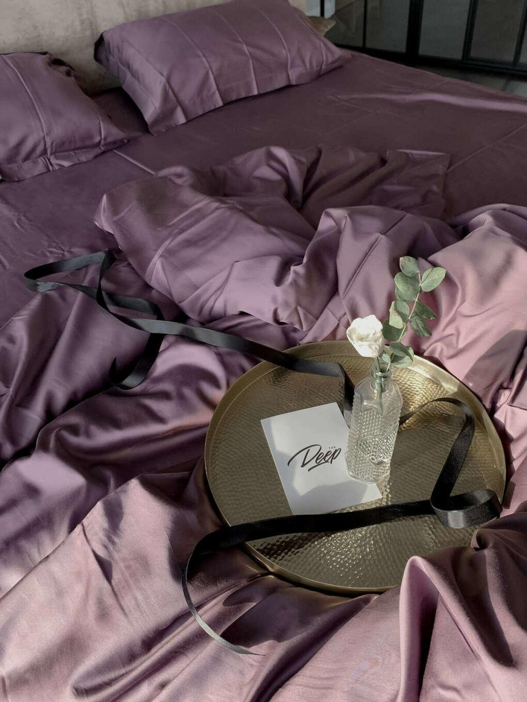 Оливковый комплект постельного белья