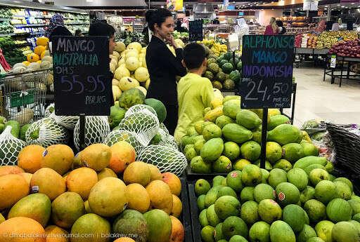 Зеленый чай с манго с рынка в Дубае