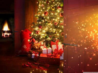 Отпраздновать Новый год в семейной и празднично-тёплой обстановке. И с кока-кола