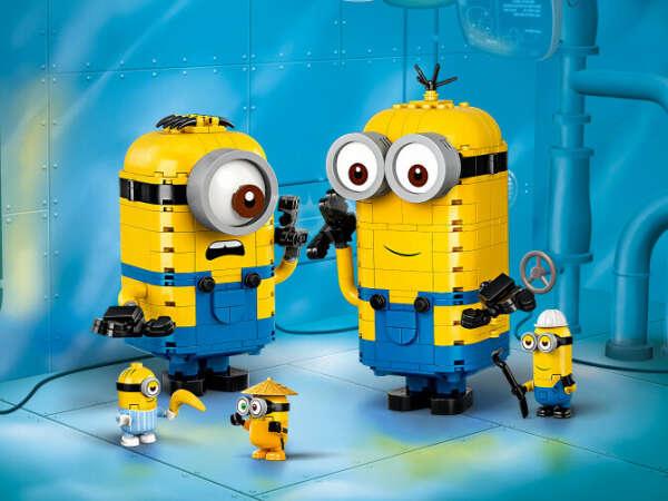 Конструктор Minions (Миньоны) 75551 Фигурки миньонов и их дом LEGO® (ЛЕГО) - купить в Сети сертифицированных магазинов LEGO, Москва
