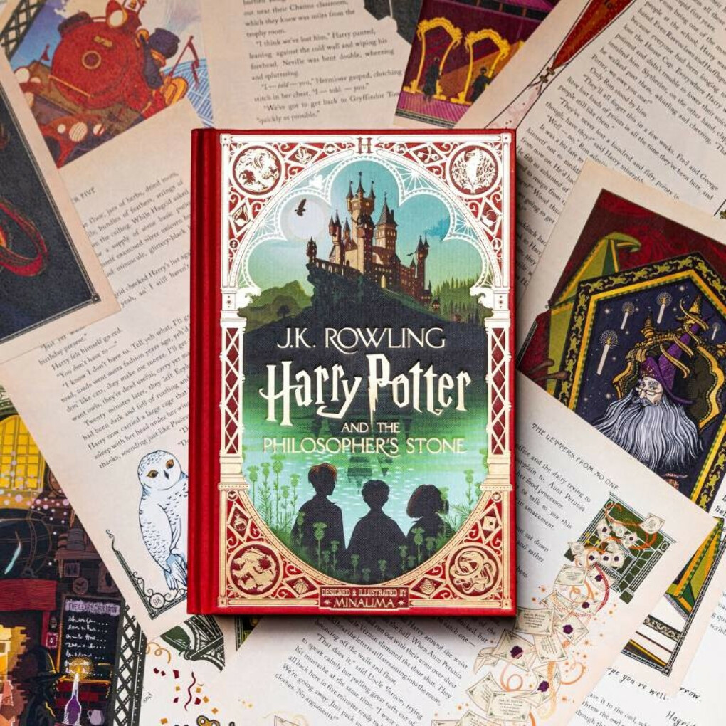 HARRY POTTER AND THE PHILOSOPHER'S STONE (SIGNED COPY) - UK EDITION
