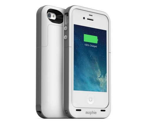 Mophie Juice Pack Plus (2000 mAh) чехол-аккумулятор для iPhone 4/4S (белый)