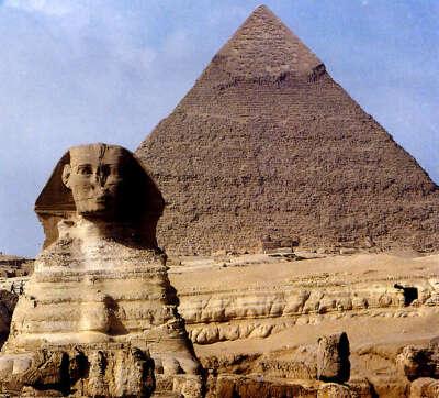 Египет. Пирамида Хеопса