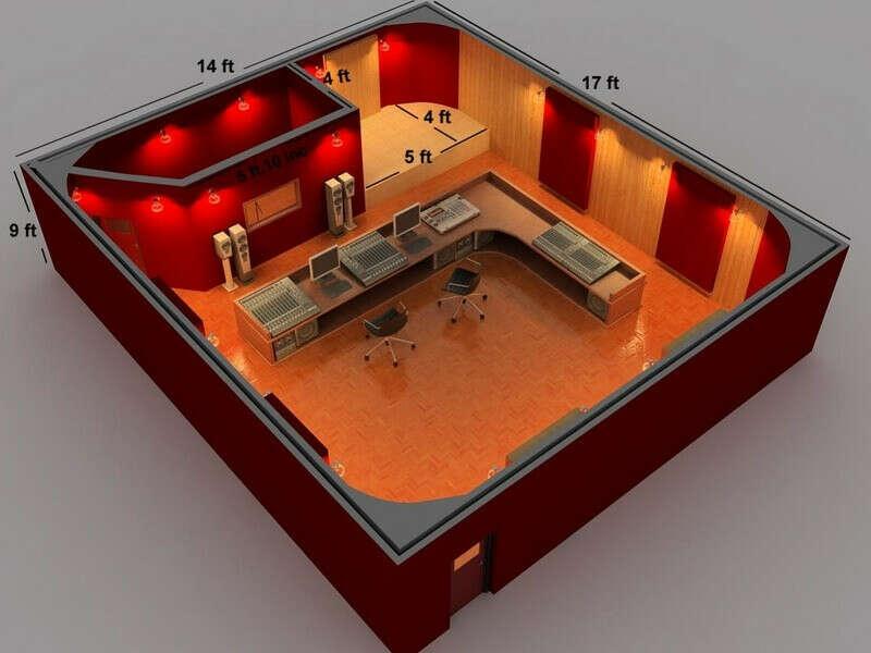 Звукозаписывающая комната