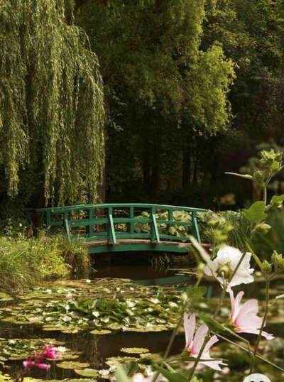 Посетить сад Моне