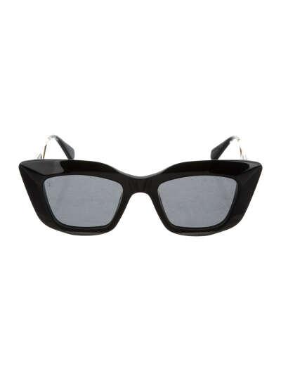 Sunglasses Arizona Dream Louis Vuitton Square Black