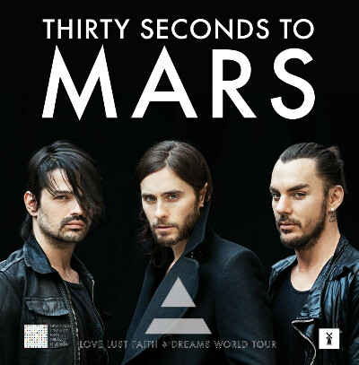 30 SECONDS TO MARS's show