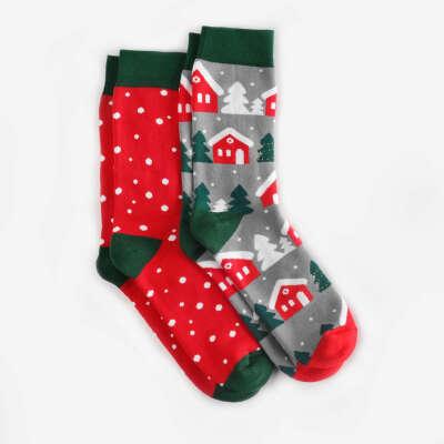 Набір теплих зимових шкарпеток Koliada