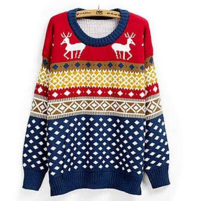 Новогодний свитер:3