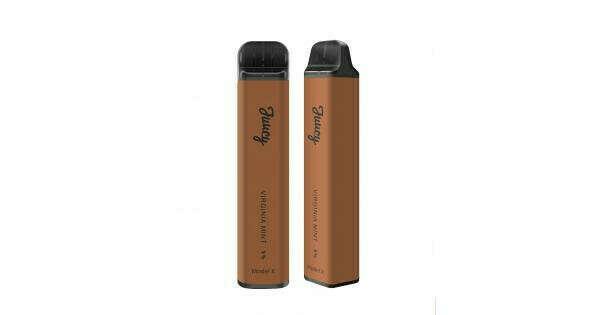 Одноразовая Pod система Juucy X  950 mAh Virginia Mint 5%, 6 мл, 1 600 затяжек