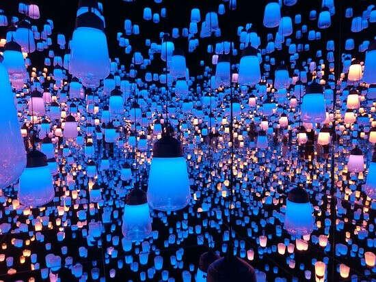 Побывать в Японском музее цифрового искусства