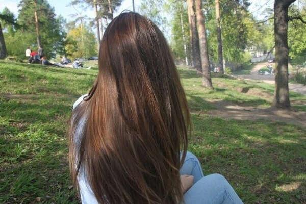 Длинные красивые волосы