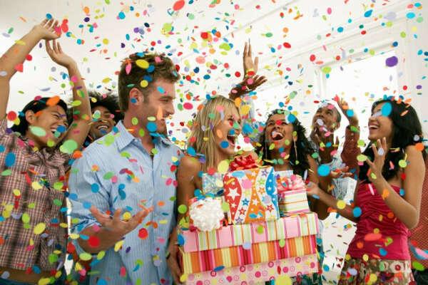 Сюрприз-вечеринка на день рождения