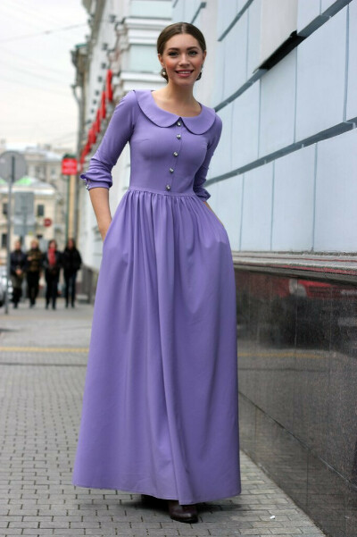 Волшебное плотное платье в пол