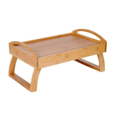 Столик для завтрака бамбуковый 42х27х21см Q05100012