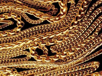 золотые цепи на шею