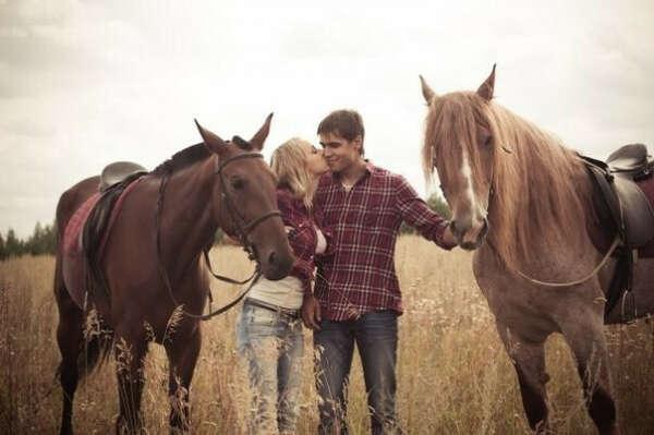 Покататься на лошадях с любимой