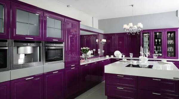 Хочу фиолетовую кухню в собственной квартире