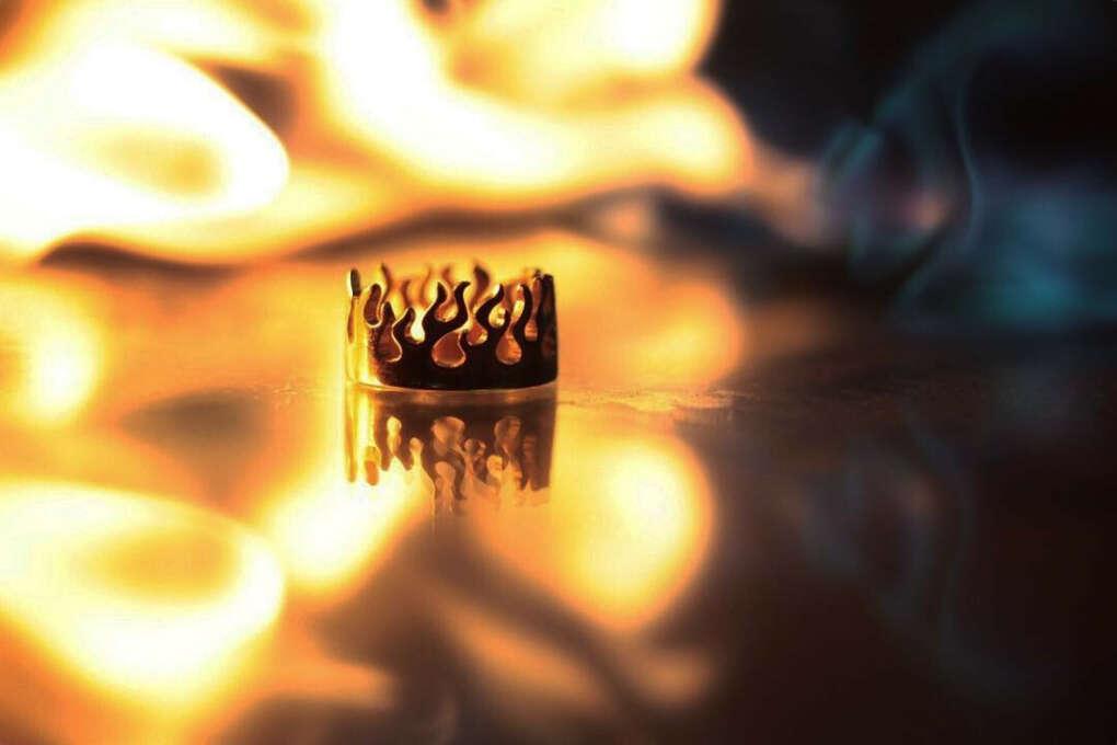 Кольцо Пламя от Kate Snap