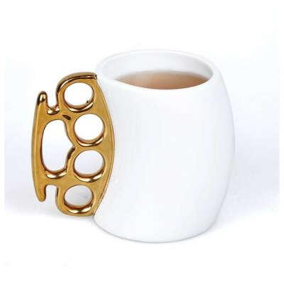 Керамическая чашка кастет