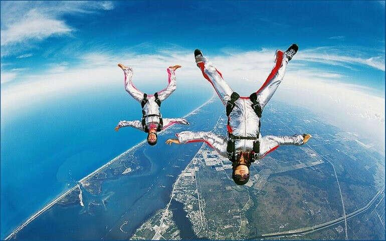 Прыжок с парашютом в Одессе, Киеве, Днепре, Харькове