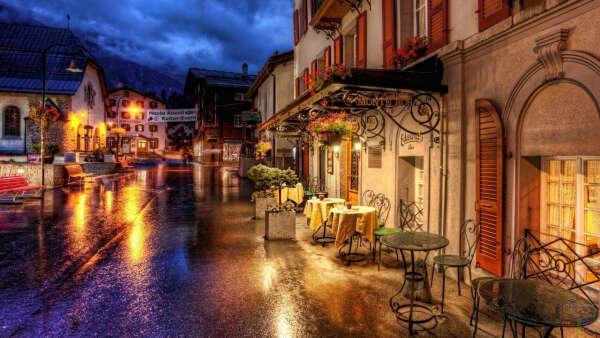 В Италию