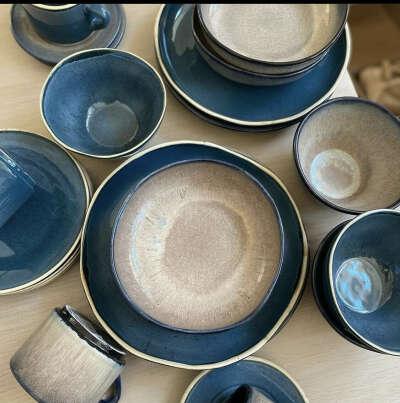 Набор красивой посуды