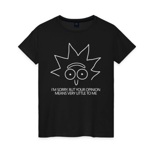 Женская футболка хлопок «I`M Sorry »