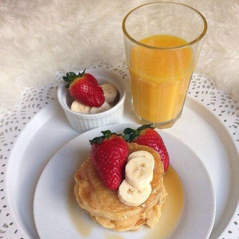 Хочу такой завтрак.