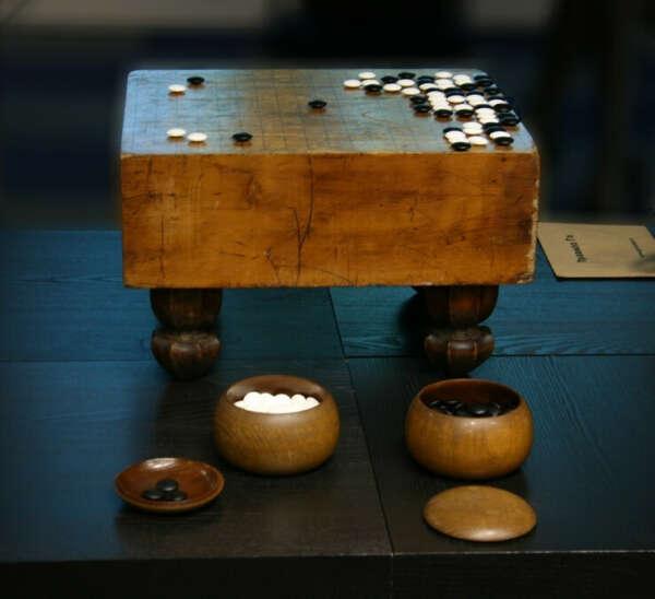 An ancient Japanese goban
