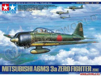 A6M3/3a Zero (Zeke) TAMIYA 61108  1:48