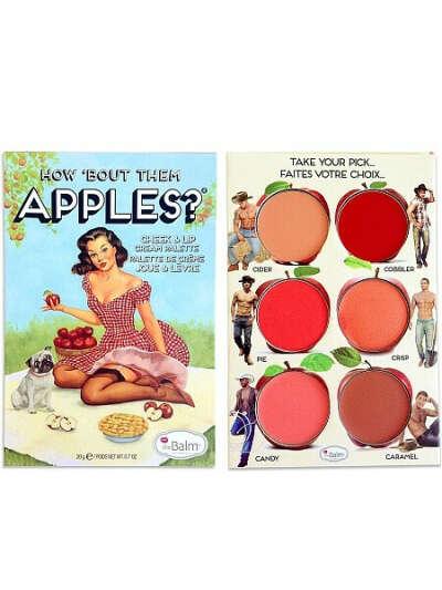 Палетка блесков для губ и скул How 'Bout Them Apples, theBalm