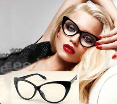 Сексуальная винтаж мода кошачий глаз форма женщины леди девушки пластиковые обычная глаз очкикупить в магазине Dafan international Ltd.наAliExpress