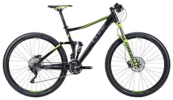 Велосипед двухподвес Cube Stereo 120 HPA 29
