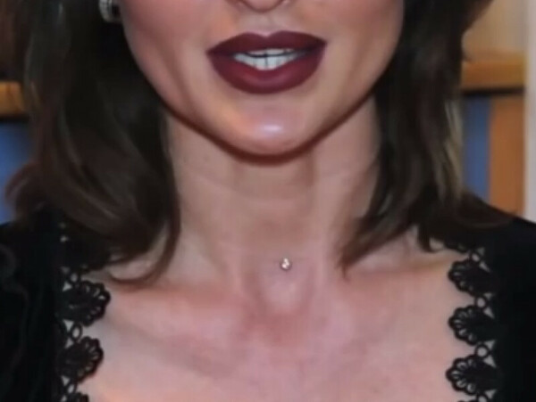 Фианит на леске (украшение на шею)