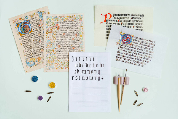 Онлайн-курс «Знакомство с каллиграфией»