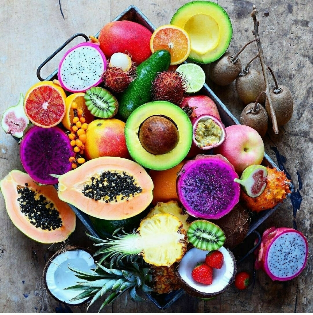 Коробка тайских фруктов