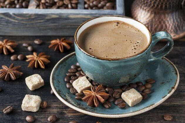 Кофе с пенкой вот в такой чашке