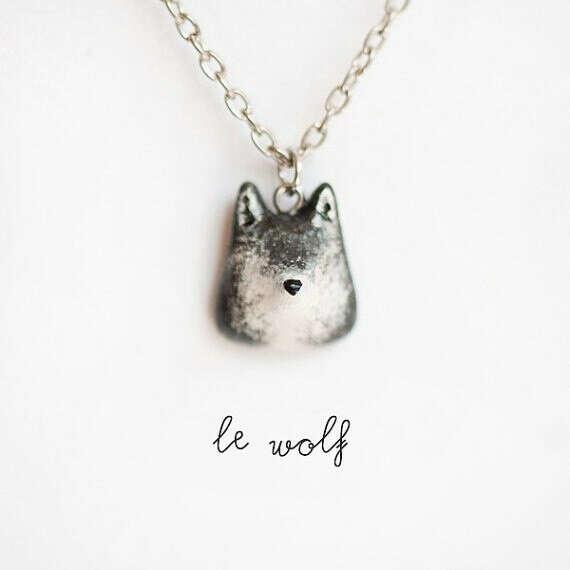 Кулон - волк